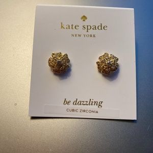 Kate Spade That Special Sparkle stud earrings NEW